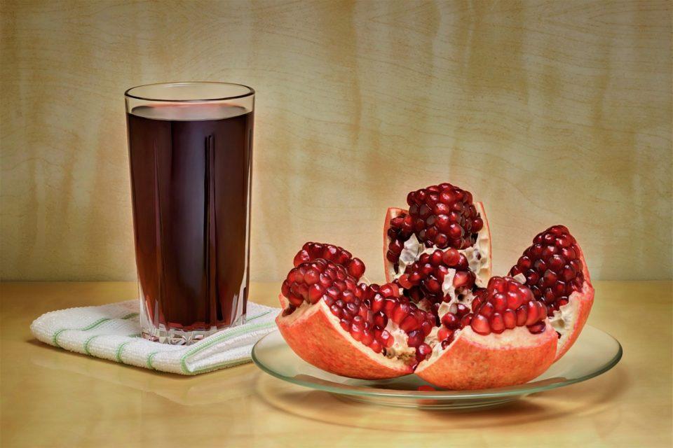Гранатовый сок для здоровья мозга